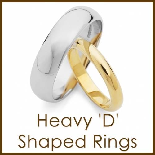 heavy d-shaped