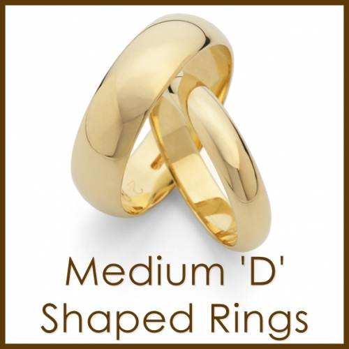 medium d-shaped